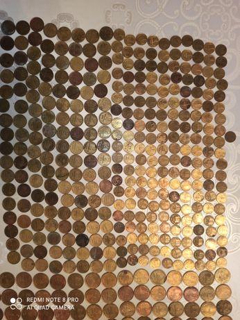 Монети СССР 920шт- 3000гр