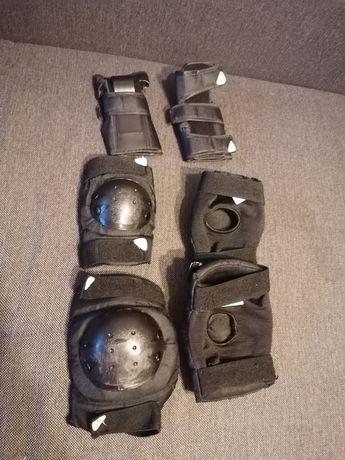 Zestaw ochraniacze na kolana,nadgarstki,łokcie