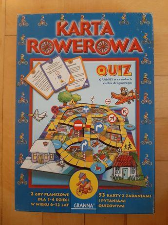 Gra Karta Rowerowa