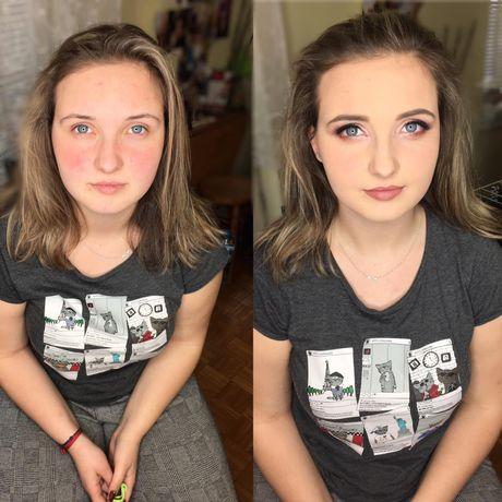 Makijaż okolicznościowy z dojazdem