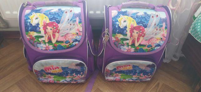 Портфелі KITE для близнят дівчаток