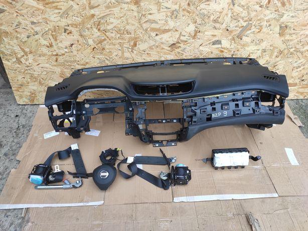 Nissan x-trail rogue t32 2013- безопасность комплект подушка airbag
