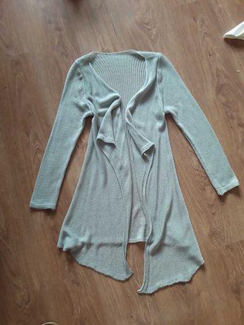 sweterek narzutka szara M/L