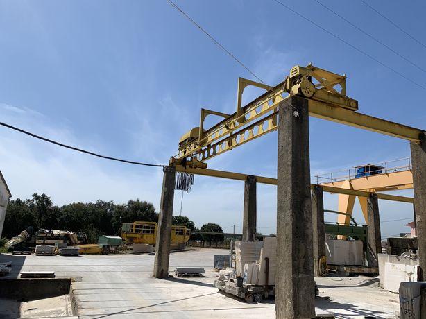 Ponte rolante 19 ton. 10m de vão.