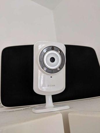 4 Câmaras de Rede/Videovigilância Sem Fios D-Link DCS-932L