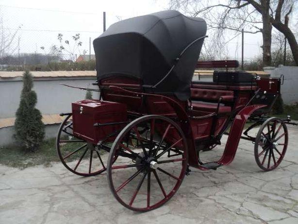 Nowy powóz konny bryczka Victoria