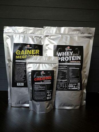АКЦИЯ!!! Протеин 2кг +Гейнер 2кг+ Креатин (США)