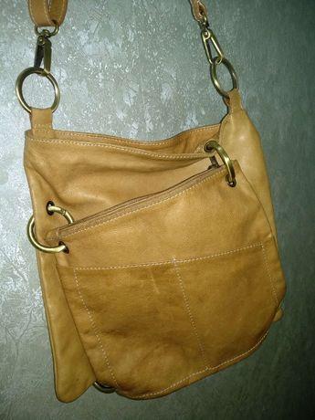 сумка женская, натуральная кожа.