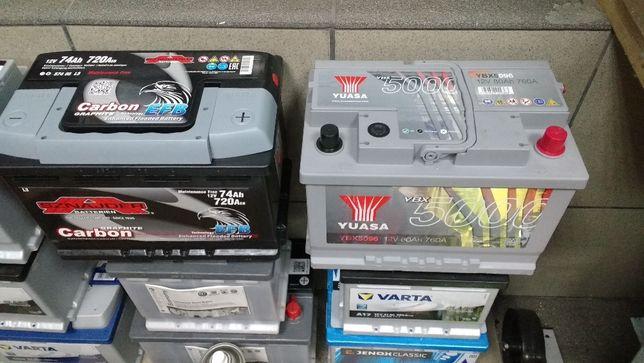 Akumulator Yuasa YBX5096 E44 80Ah 760A 74ah 77Ah CA770 Diesel Kraków