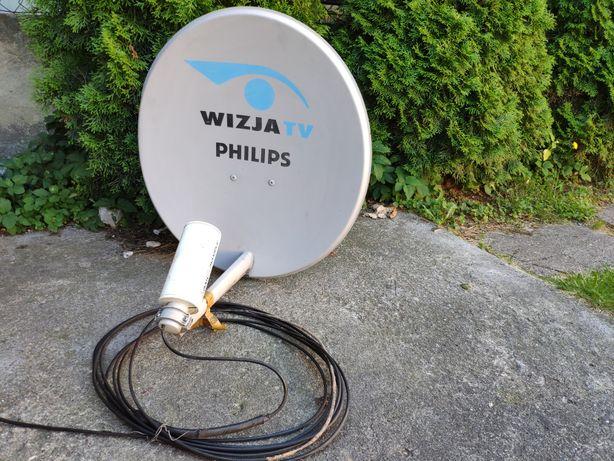Antena satelitarna z zamontowaną anteną wifi Abaks Parabolic
