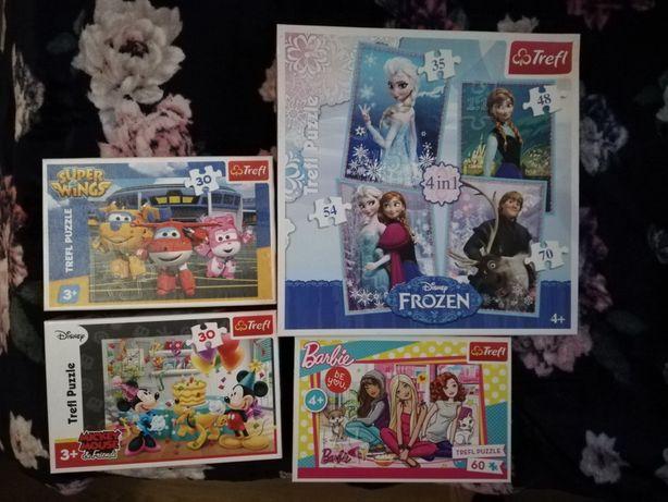 Puzzle plus gra dla dziewczynki