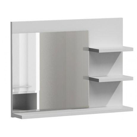LUMO L3 / LUSTRO ŁAZIENKOWE z półkami / 60x13,6x50 cm