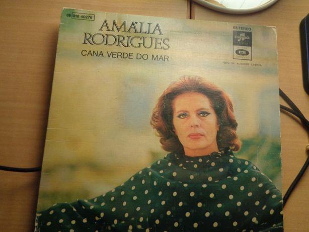 Disco Single Amália Cana Verde do Mar Em Bom Estado