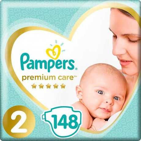 Pampers premium care 2 148 шт