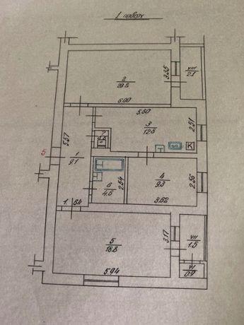 Продається 3-кімнатна квартира