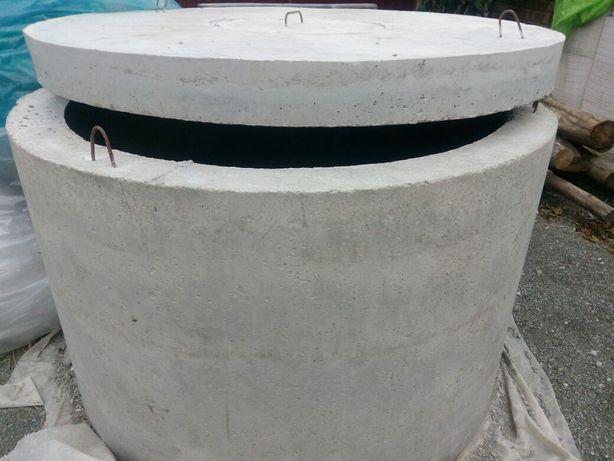 Бетонные кольца колодезные, канализационные