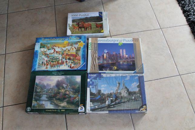 puzzle 1000 części