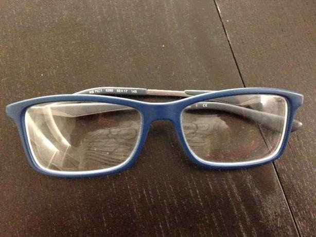 Oculos ray ban azuis usados como novos