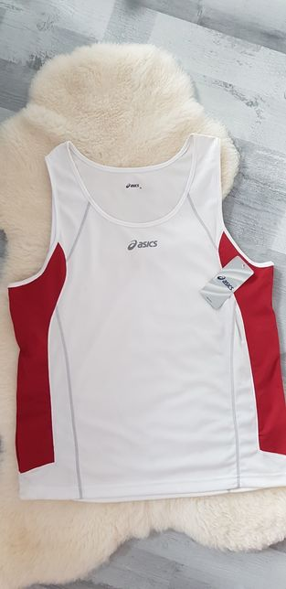 Asics sportowy top koszulka bezrękawnik podkoszulek Nowy wysyłka grati