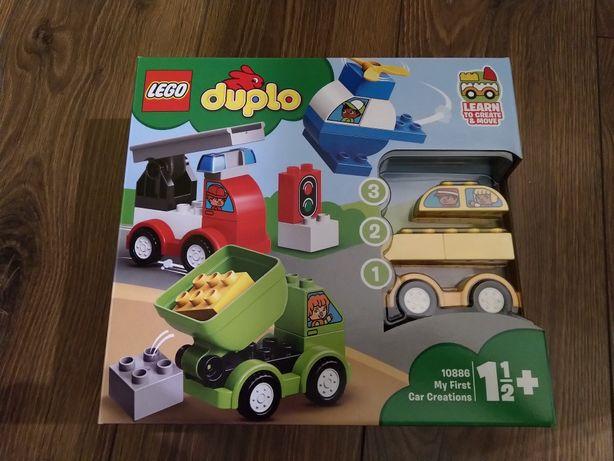 LEGO Duplo moje pierwsze samochodziki 10886