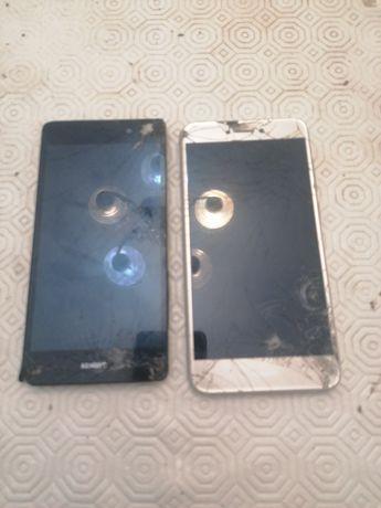 Huawei p8 lite ecra danjficado