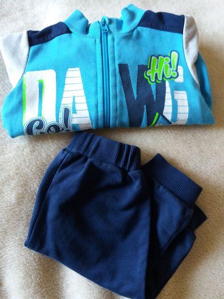 Zestaw dla chłopca bluza i spodnie