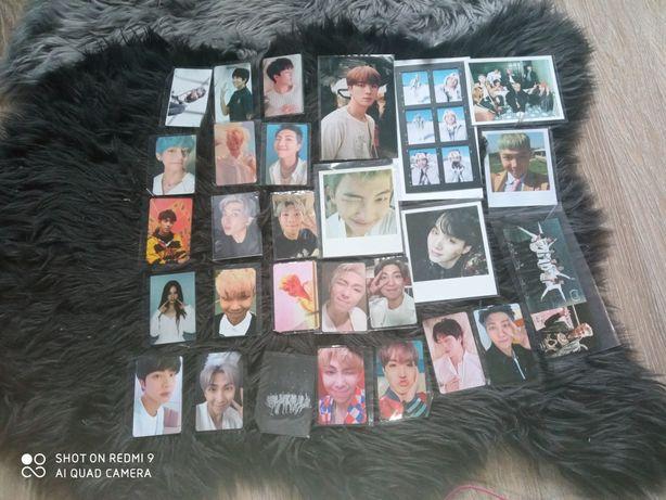 Wymienię BTS karty i plakaty z Diconu