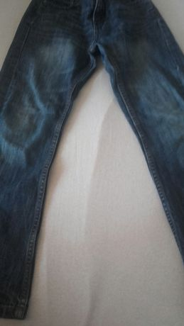 Spodnie jeansowe chłopięce 134/140cm