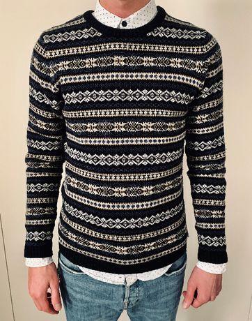 Стильный свитер Oodji, весна\осень, размер S\M