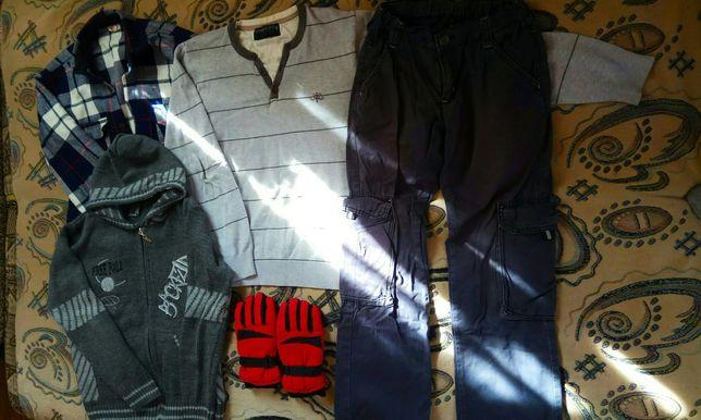 Пакет одежды на парня подростка, ростом 145-155 см