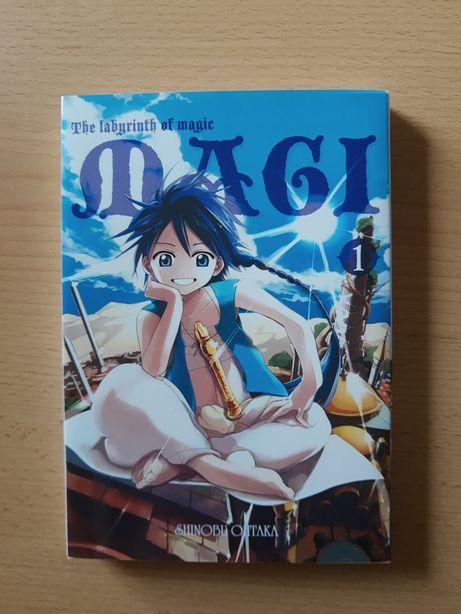 MAGI: The labyrinth of magic Tom 1 MANGA