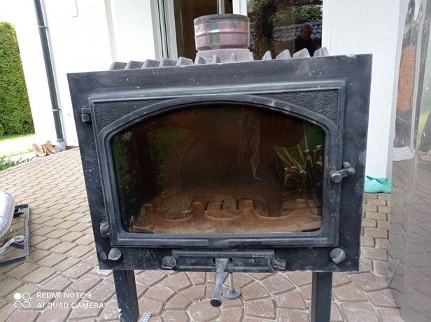kominek - wkład kominowy żeliwny Tarnava bez płaszcza wodnego