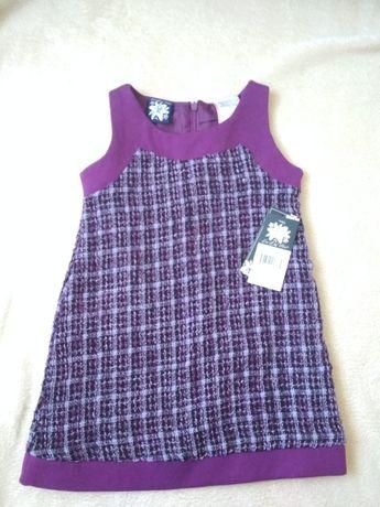 2 года платье сарафан букле теплое плаття