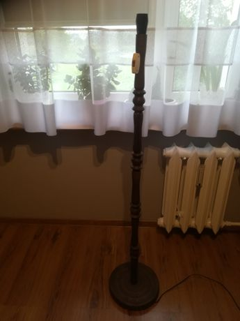 Stara stojąca lampa PRL