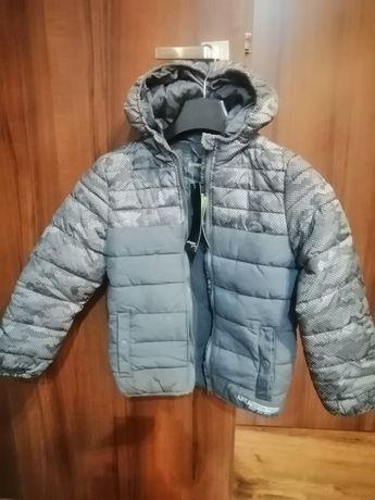 Sprzedam nową zimową kurtkę dla chłopca roz. 134/140