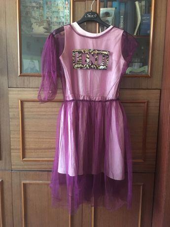 Платье подростковое, р 152