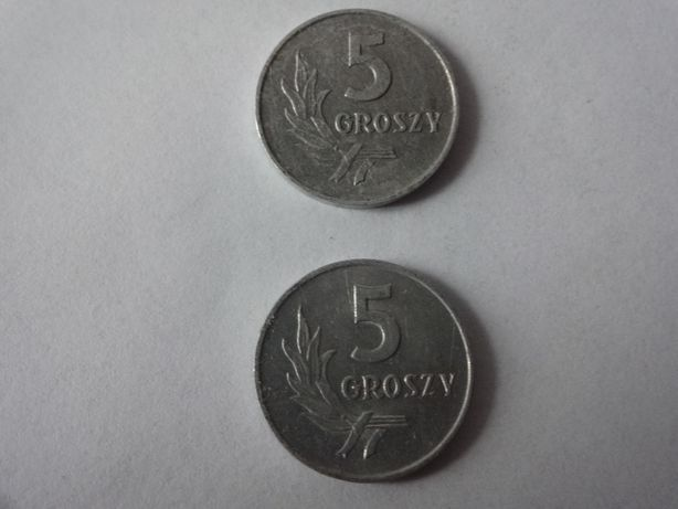 5 groszy 1962 rok moneta kolekcjonerska