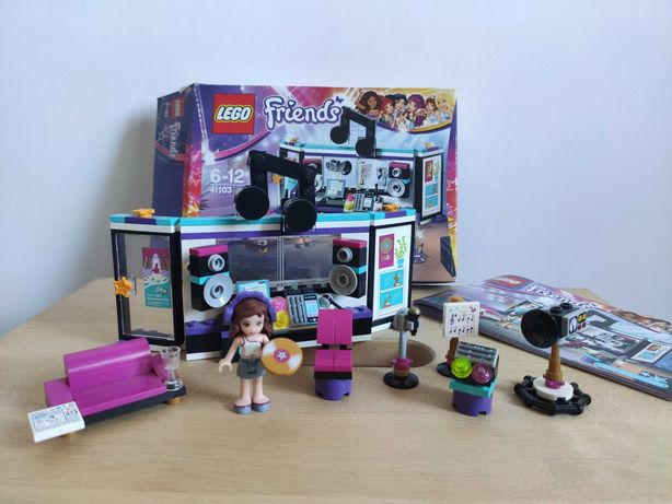 Конструктор Lego Friends Поп-звезда в студии звукозаписи 41103