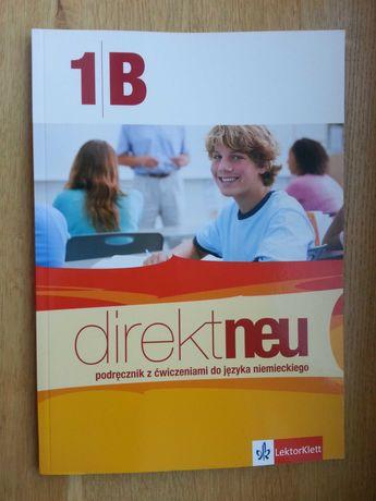 Direct neu 1B + CD Podręcznik do j. niemieckiego LektorKlett