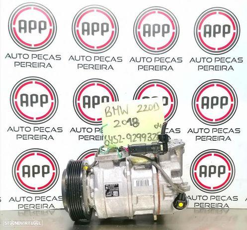 Compressor ar condicionado BMW série 1, série 2, série 3, 20D, referência 6452 9299328-04, 21000 kms.