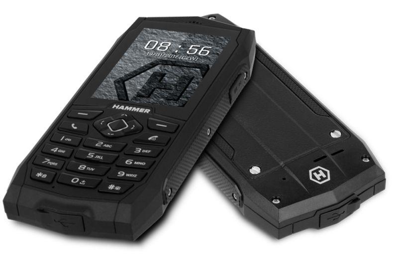Wytrzymały Pancerny Telefon MyPhone Hammer 3 * NOWY GW24
