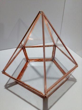pudełko, szkatułka, świecznik, stroik szklany