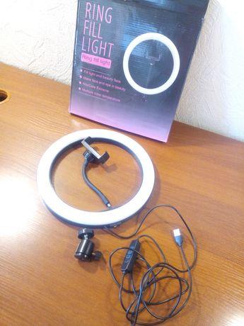 лампа круговая 26см