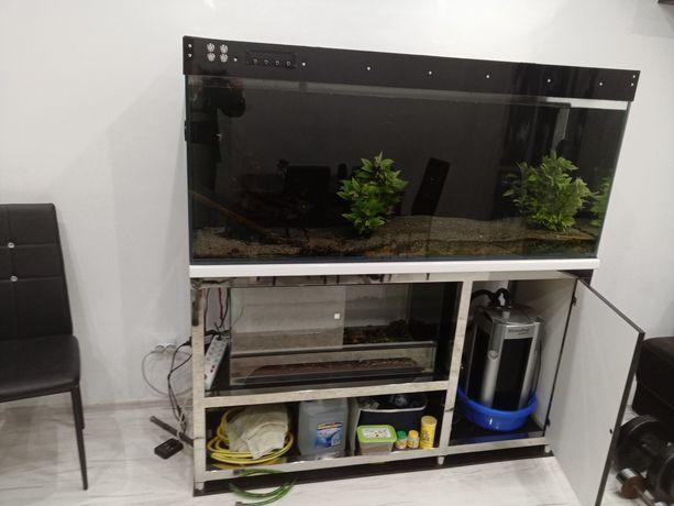 Akwarium 450l 150x50x60 z osprzętem