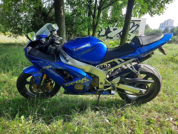 Kawasaki Ninja 636 Zx6r zar. w Polsce. Przebieg 44 tys km.