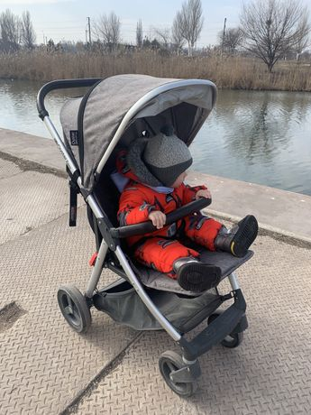 Прогулочная коляска BabyStyle Oyster Zero Mercury