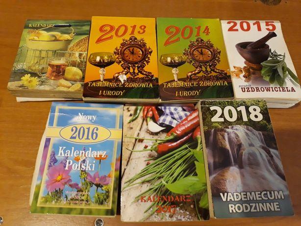 kartki z kalendarza od 2012r do 2018r