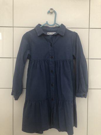 Sukienka reserved r116 sztruksowa