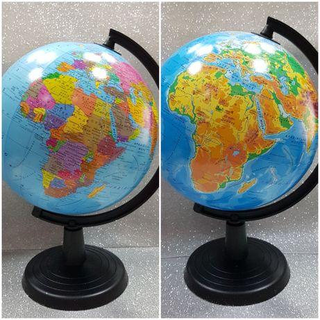 Глобус Політичний Фізичний D-22см  Глобус Политический Географический
