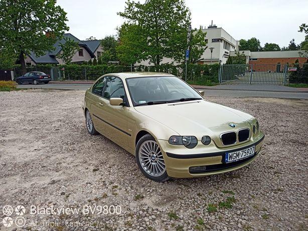 BMW E46 Compact 1.8 benzyna niski przebieg!